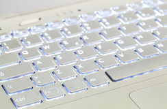 Illuminated Keyboard Stock Photos