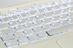 Illuminated Keyboard Stock Photos
