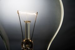 Illuminated Light Bulb Royalty Free Stock Image