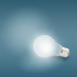 Illuminated light bulb Royalty Free Stock Image