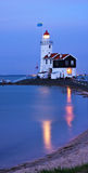 Illuminated lighthouse Royalty Free Stock Image
