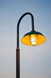 Illuminated Lighting Pole Stock Image