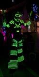 Illuminated man Royalty Free Stock Photos
