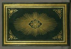 Illuminated Manuscript Koran, Binding, Walters Art Museum Ms. W.552, Upper board outside Stock Photo