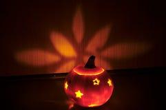 Illuminated pumpkin Stock Photography