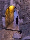 Illuminated scenic passage Royalty Free Stock Photo