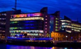 Illuminated ship Royalty Free Stock Photos