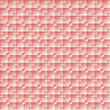 Illuminated square and round pink tiles Stock Image