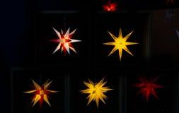 Illuminated stars Stock Images
