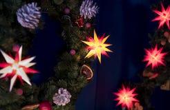 Illuminated stars Royalty Free Stock Photo