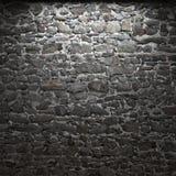Illuminated stone wall Royalty Free Stock Image