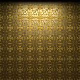 Illuminated tile wall Stock Photo
