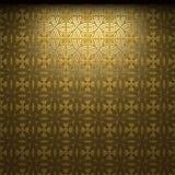 Illuminated tile wall Stock Photo