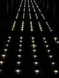 Illuminated walkway Royalty Free Stock Photography