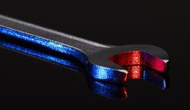 Illuminated wrench Stock Images