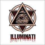 illuminati royalty-vrije stock afbeeldingen