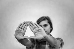Illuminati symbol Royalty Free Stock Photo