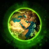 Illuminating green planet Earth - GREEN LIVING Stock Photos