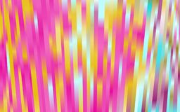 Illuminating lines, vibrant gradient color. Luminous texture. Bright, neon stripes. Vector illustration. Modern geometrical abstract pattern with staves Stock Image