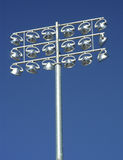 Illuminating Sports. Flood lights on an athletic field Stock Images