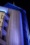 The illumination. The modern building in the night Stock Photo