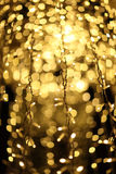Illumination. Abstract pattern created by reflection of lights holiday illumination royalty free stock photos