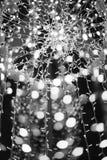 Illumination. Abstract pattern created by reflection of lights holiday illumination stock photos