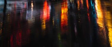 Free Illumination And Neon Night Lights Of NYC Royalty Free Stock Photos - 158922098