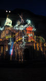 Illumination at Chateau de Blois in Loir Valley Stock Image