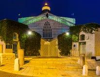 The illumination of the church Royalty Free Stock Photography