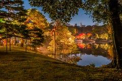 Illumination d'automne images stock