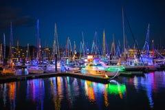 Illumination de l'hiver de Laguna Images libres de droits