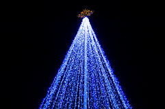 illumination de Noël Image libre de droits