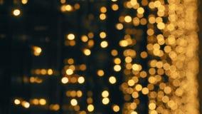 Illumination Defocused pendant la nuit clips vidéos