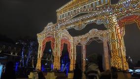 Illumination du ` s de nouvelle année clips vidéos