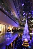 Illumination light showing in the winter at Ometosando, Tokyo, Japan Stock Image
