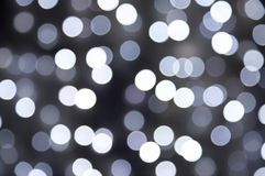 Illumination noire et blanche de tache floue Image libre de droits