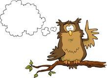 Illumination owl Stock Images