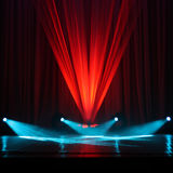 Illumination of a stage royalty free stock photo
