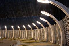 Illumination system. From Turda salina stock photos