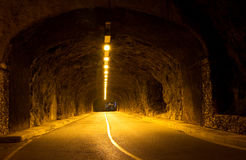Tunnel in Monaco Royalty Free Stock Images
