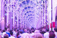 Free Illuminations Show Lights And Colors Stock Images - 112759414