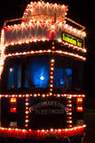 Illuminations Tour tram at Blackpool, Lancashire, England, UK. Royalty Free Stock Photo