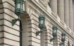 Illuminazione architettonica Immagini Stock