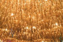 Illuminazione astratta Fotografia Stock