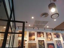 Illuminazione calda Fotografia Stock