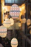 Illuminazione decorativa Fotografia Stock