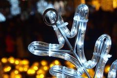 Illuminazione decorativa Immagine Stock