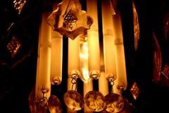 Illuminazione del candeliere Immagine Stock