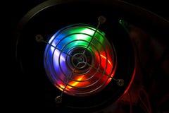 Illuminazione del cerchio Immagini Stock Libere da Diritti
